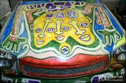 Retromobile, sculptures et mascottes, rolls royce, peugeot, jaguar