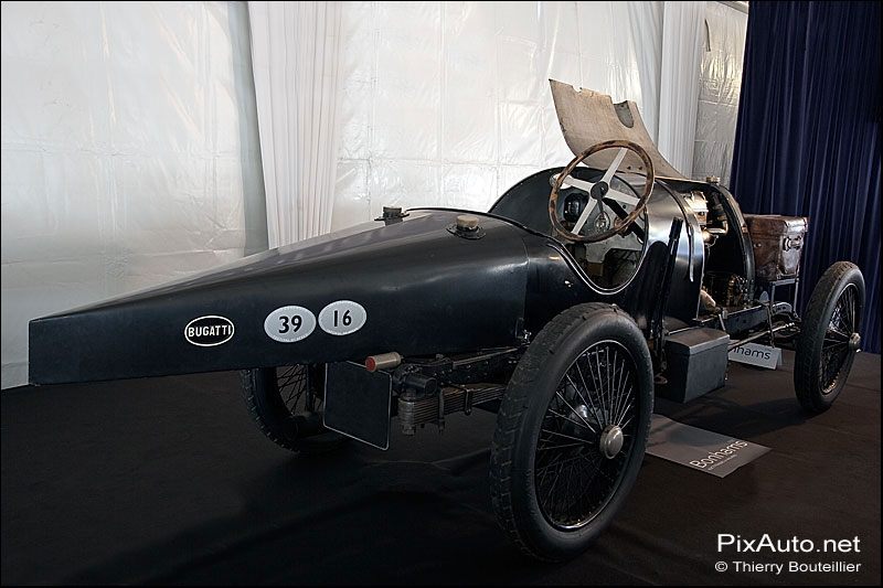Bugatti T16 excellence automobile de Reims