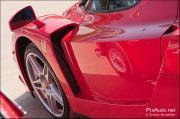 Tour auto, Ferrari Enzo parc ferme jardin des tuileries