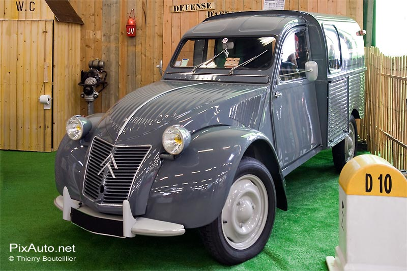 Citroën 2CV salon Automedon