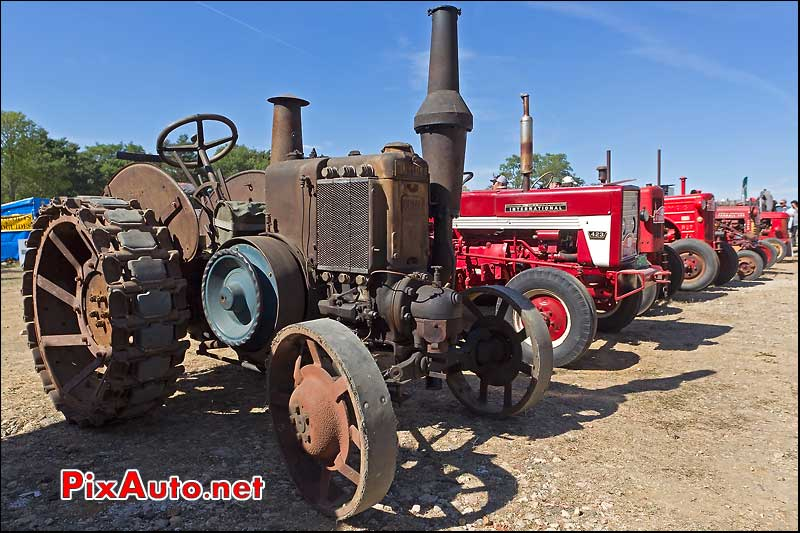 engins agricoles, la locomotion en fete