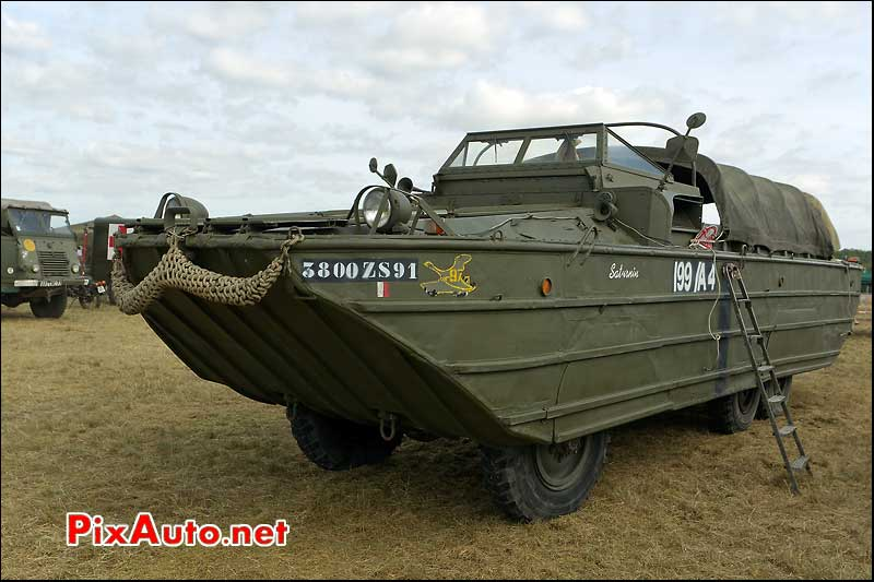 gmc amphibie duck 353 la locomotion en fete