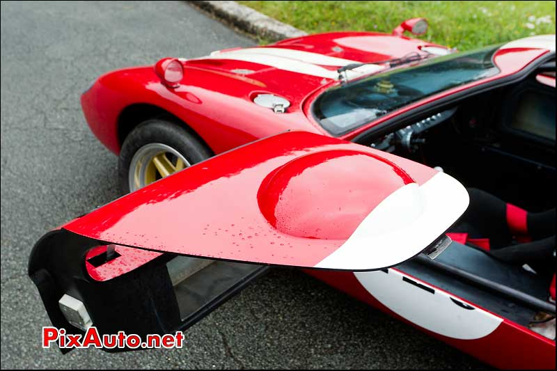 detail ford gt40 autodrome radical meeting linas montlhery
