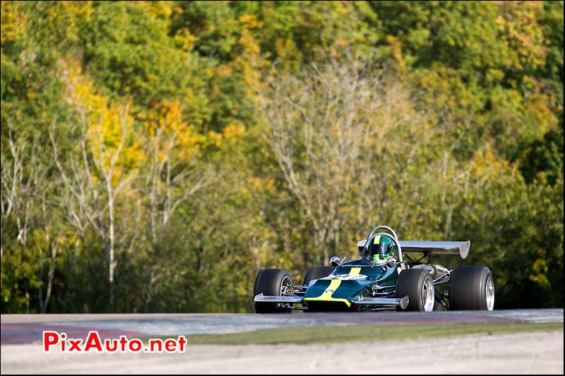 monoplace crossle 22f, pilote Paul McMorran, Historic Monoposto Racing