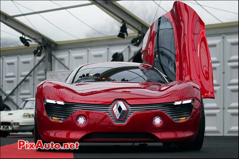 Concept-car Renault DeZir Festival Automobile International