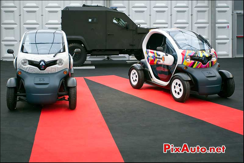 Concept-car Renault Twizy Festival Automobile International