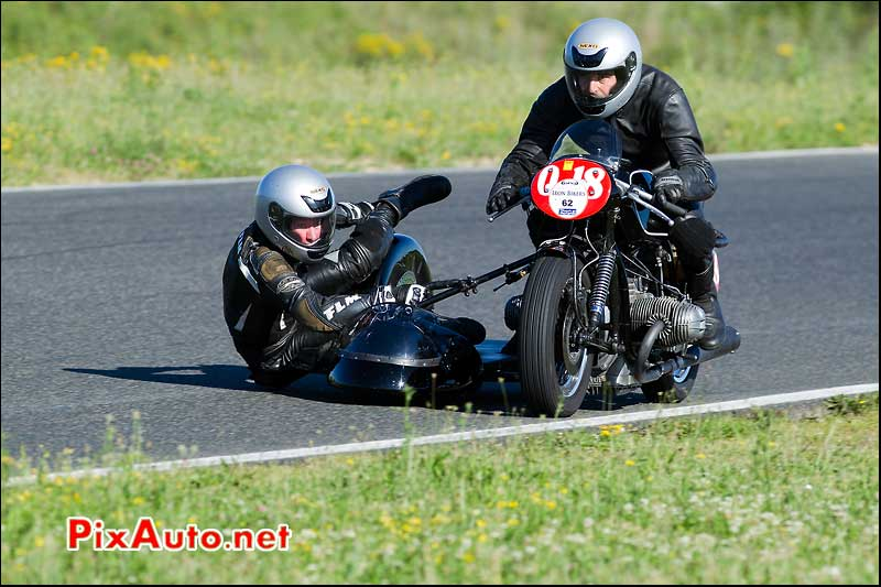 side-car bmw iron bikers circuit carole