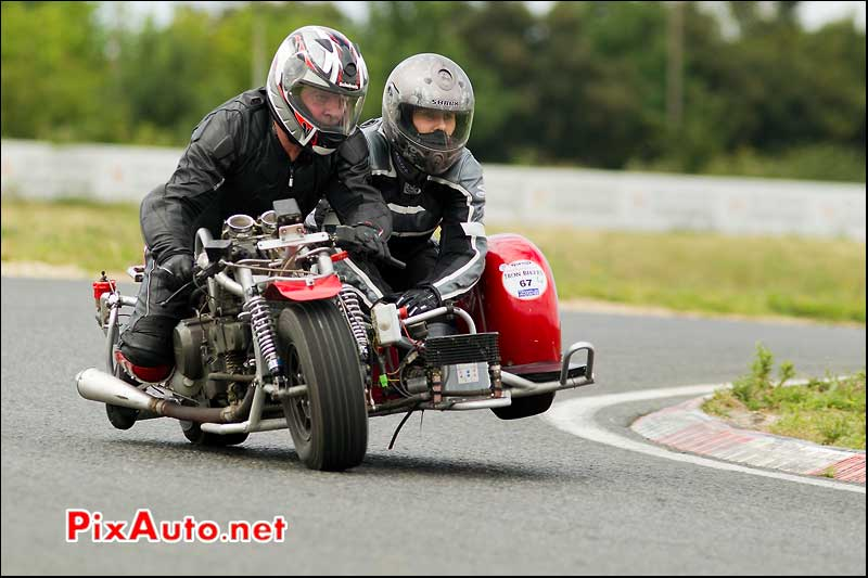side-car iron bikers circuit carole