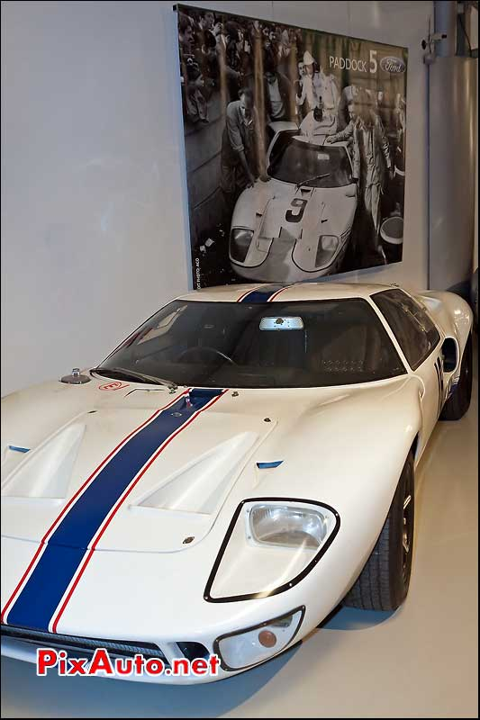 ford gt40 de 1967 musee des 24Heures