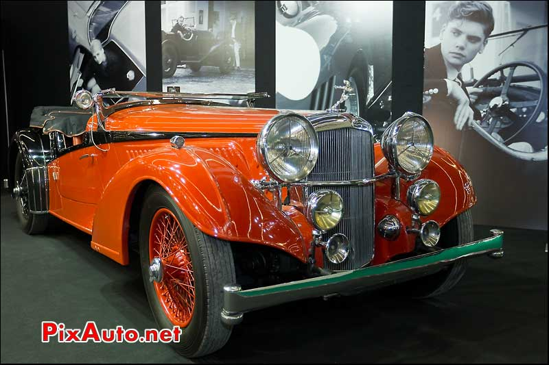 Alvis Vanden Plas salon retromobile