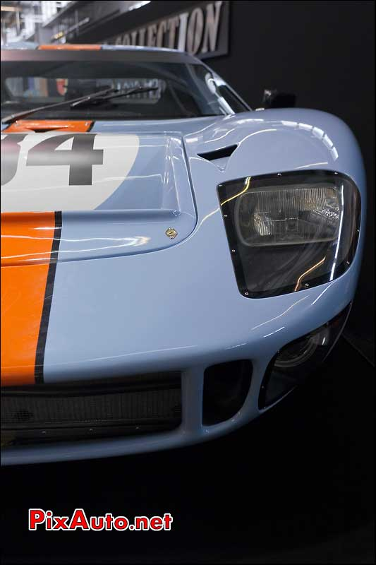 Ford GT40 Gulf salon retromobile Collection Rolfo Gulf
