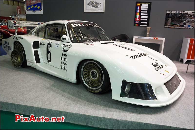 Porsche 935 Moby Dick salon retromobile