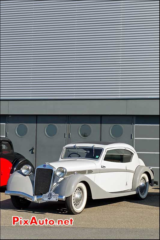 coupe delage d6-70 salon automedon le bourget