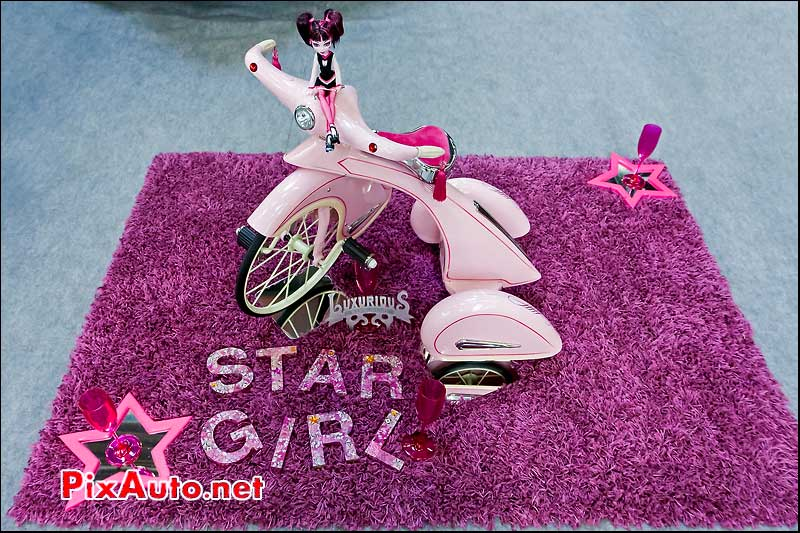 tricycle rose star girl salon automedon