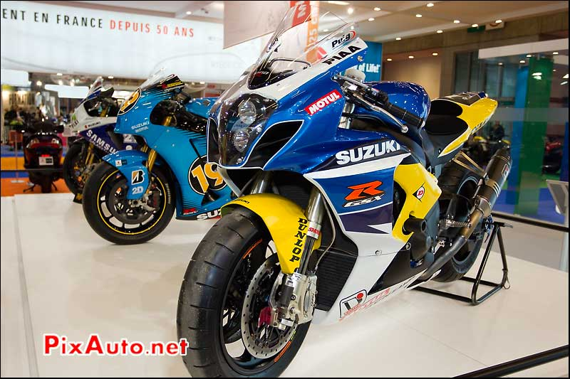 salon de la moto paris moto suzuki competition