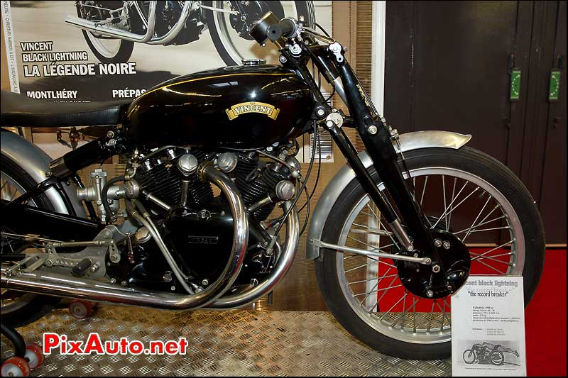 salon de la moto paris vincent black lightning