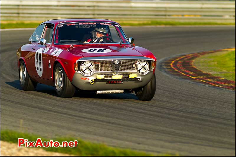 alfa romeo 1600gta, SPA francorchamps 2011