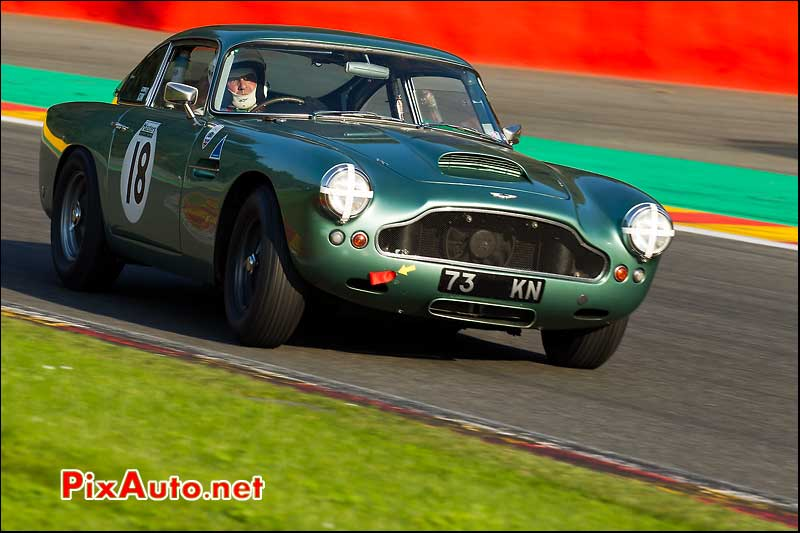 Aston Martin Db4 1961, Six heures de SPA, Six hours endurance