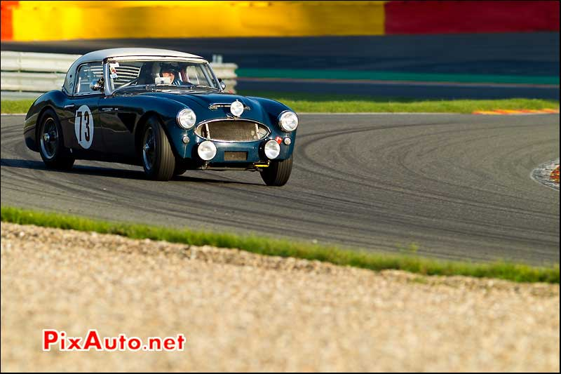 austin healey 3000, SPA francorchamps 2011