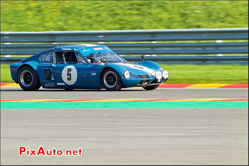 elva gt160 lm SPA Six Hours 2011