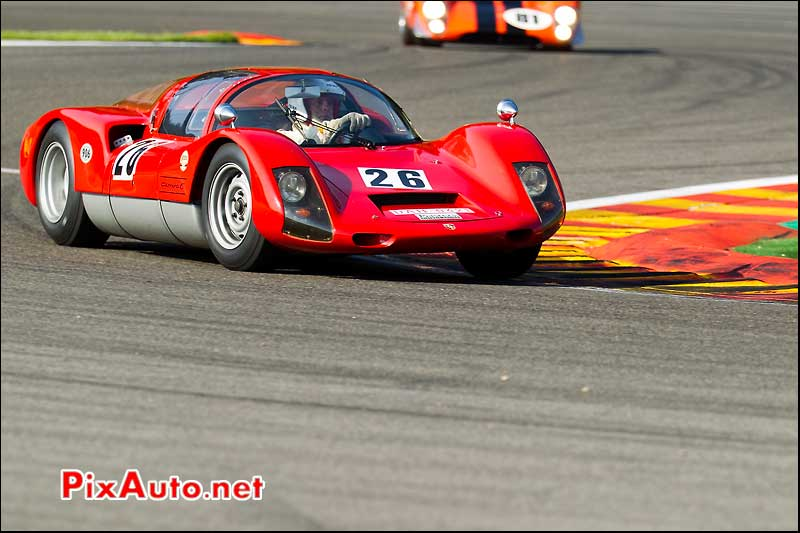 porsche 906 carrera, SPA francorchamps 2011