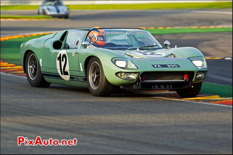 ford gt40 roadster, SPA francorchamps 2011