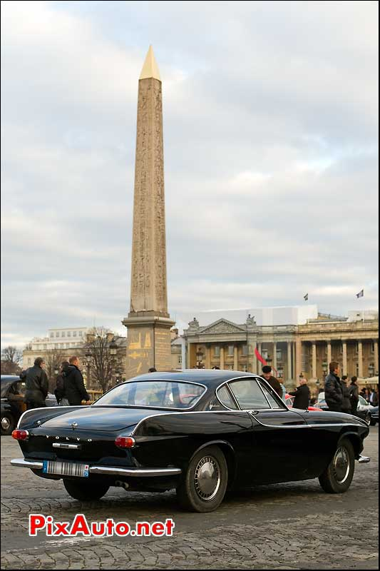 Volvo P1800 traversee de paris