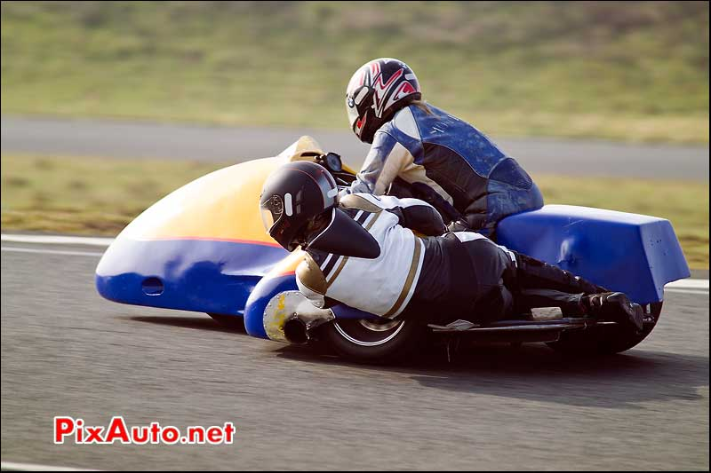 Side-Car, Trophee Coluche, circuit Carole