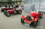 Exposition Bonhams, voitures sous nef du Grand Palais