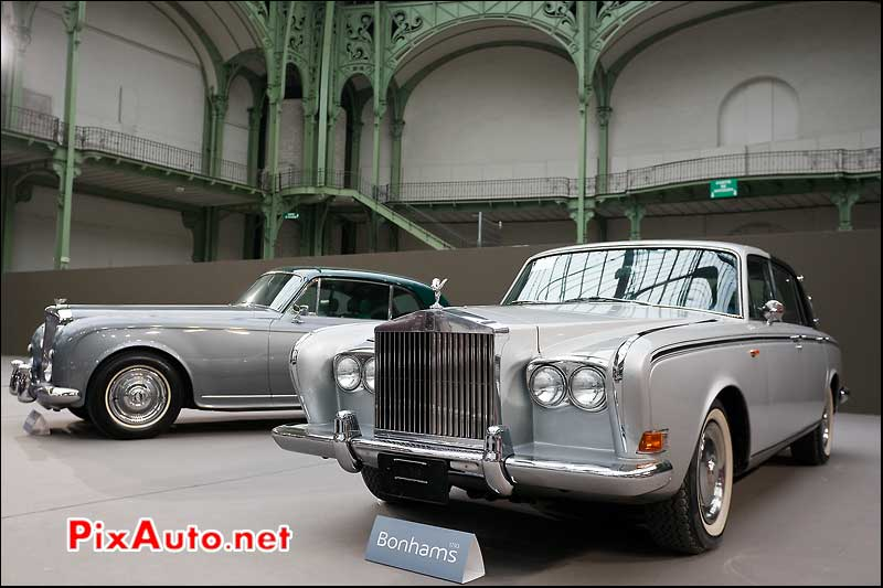 Rolls Royce Silver Shadow.