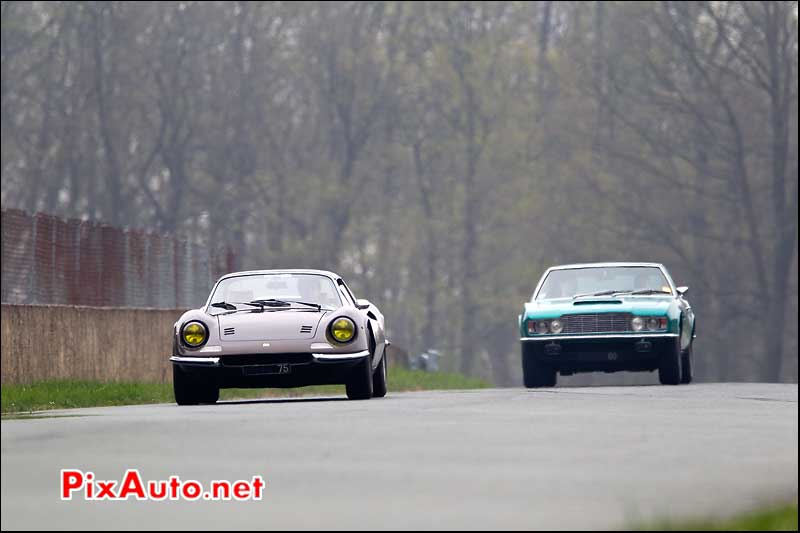 dino 246 and aston martin dbs the persuaders