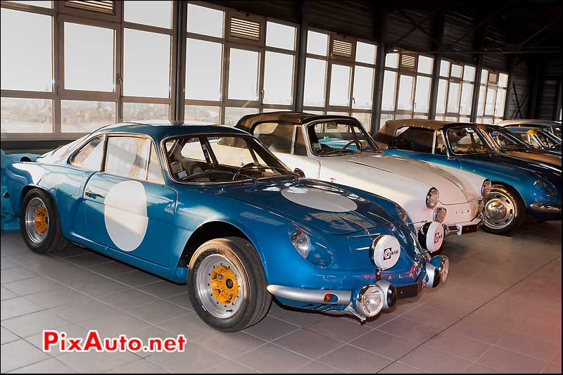 alpine a110 berlinette collection jean-charles redele