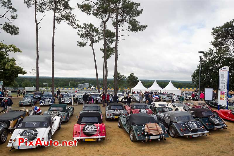 Club Morgan, Le Mans Classic