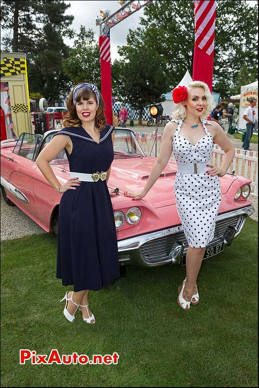 Pin-up glamour, Le Mans Classic