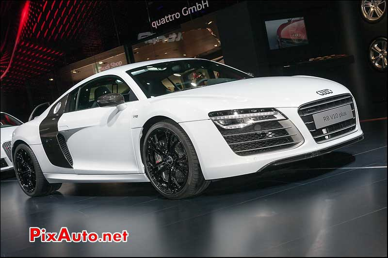 audi r8 v10 plus mondial automobile 2012