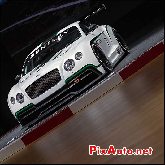 bentley gt3 mondial automobile 2012