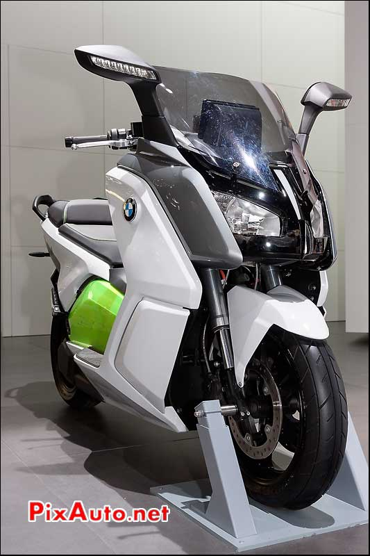 prototype scooter electrique bmw mondial automobile 2012