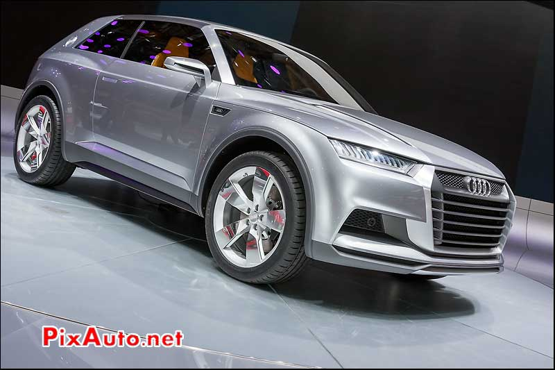 showcar audi crosslane coupe mondial automobile 2012