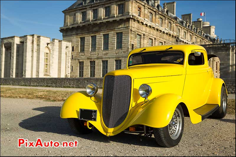 hot-rod ford 33, chateau Vincennes