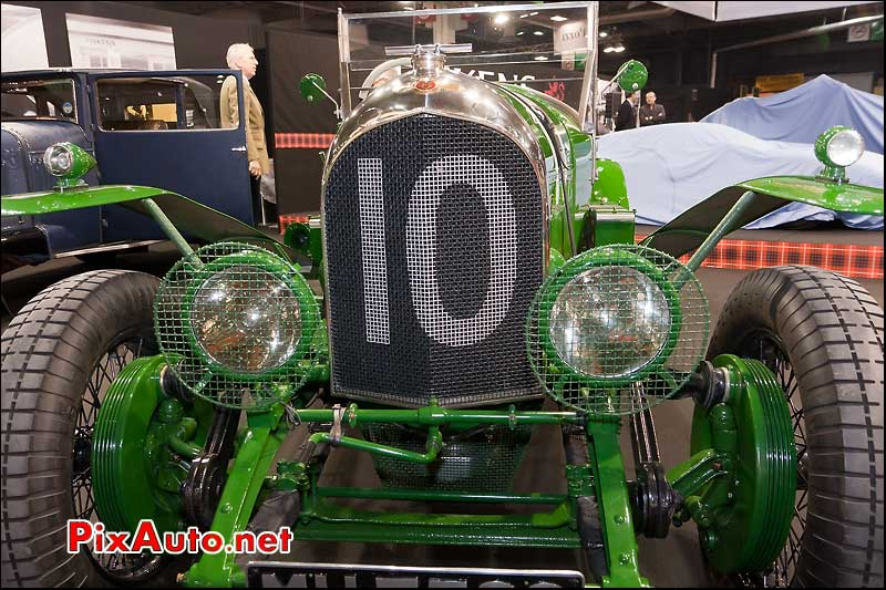 salon retromobile bentley 3litres de 1925 stand fiskens