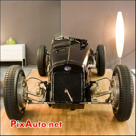 monoplace delage 15s8 de 1926 salon retromobile