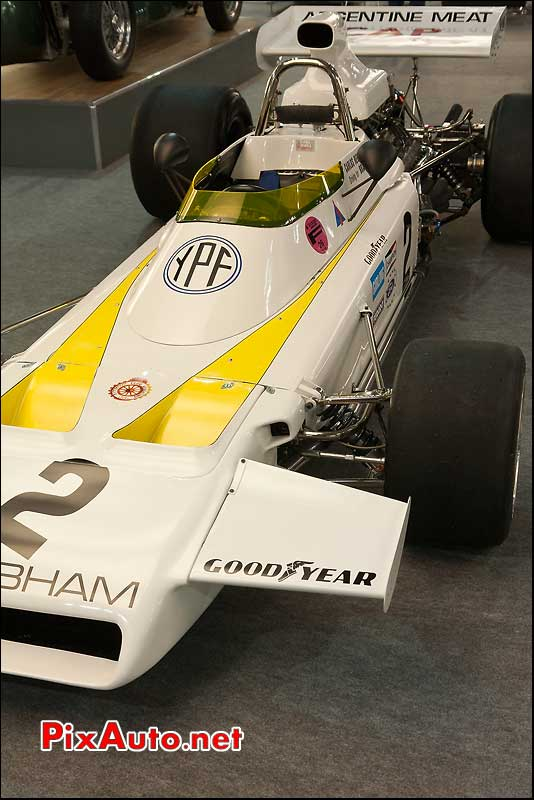 salon retromobile monoplace brabham bt37 de 1972