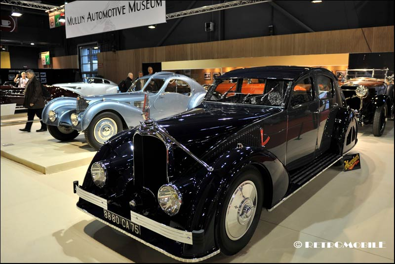 salon retromobile collection peter mullin Voisin C25 Aérodyne