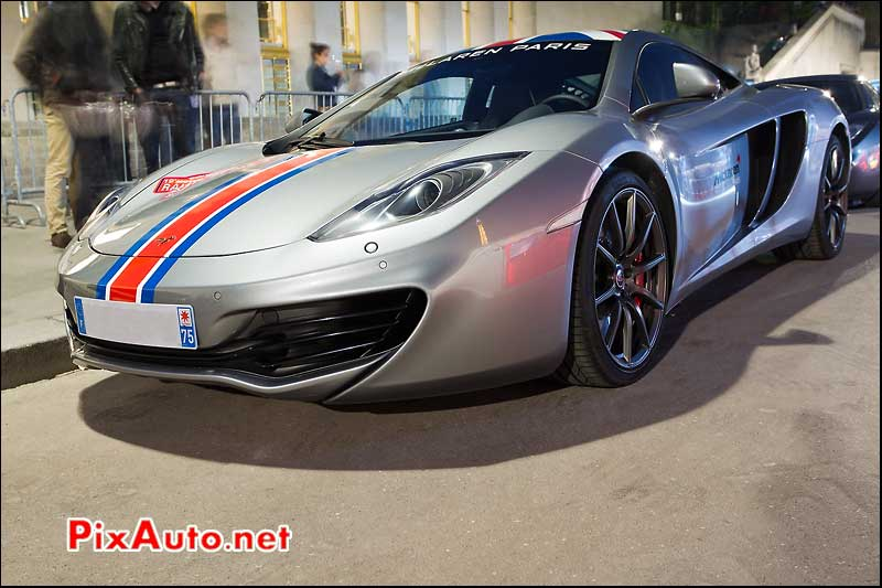 Mc Laren MP4-12C, rallye de Paris GT