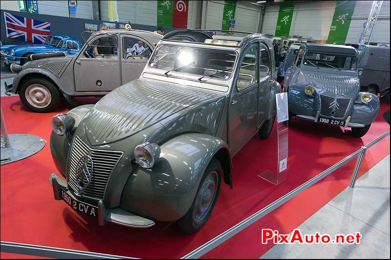 citroen 2cv de 1950 salon automedon
