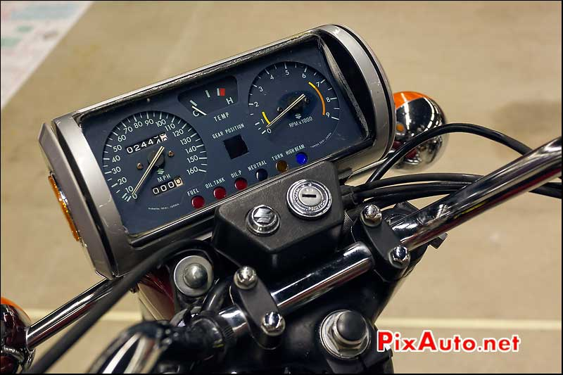 compteur suzuki RE5 Salon Moto Legende