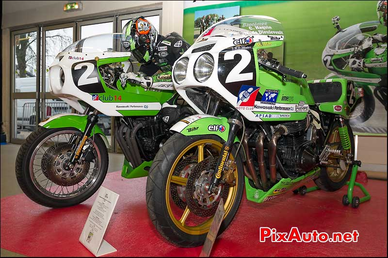 Kawasaki performance 1170 du Hampe racing team