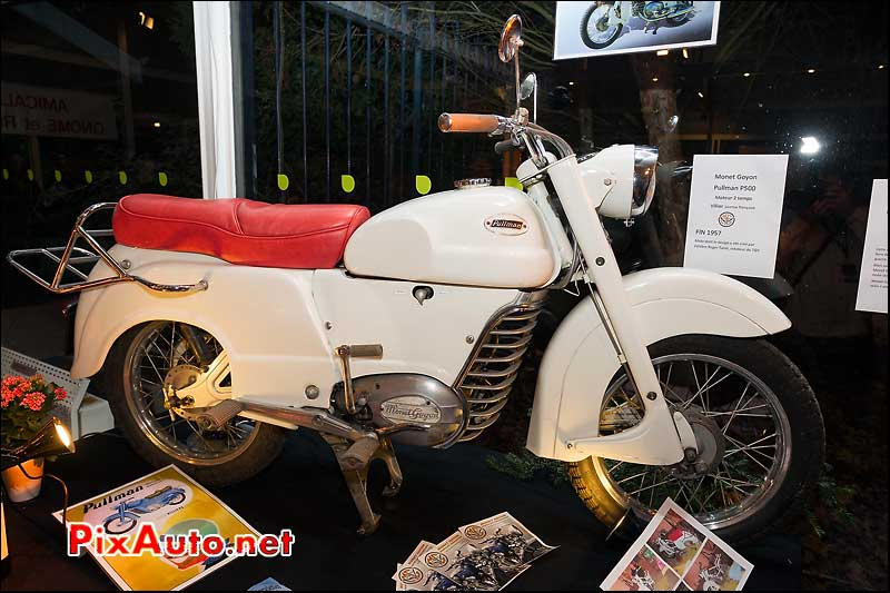 Monet Goyon Pullman W1 de 1984 Salon Moto Legende