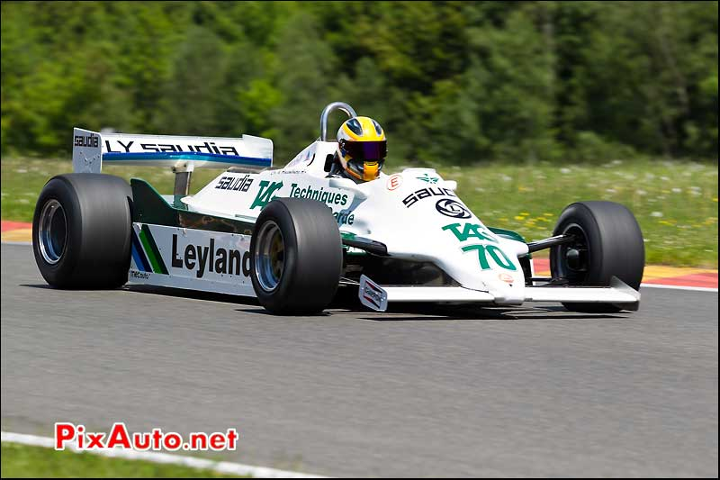 formule 1 Williams FW07, SPA-Classic