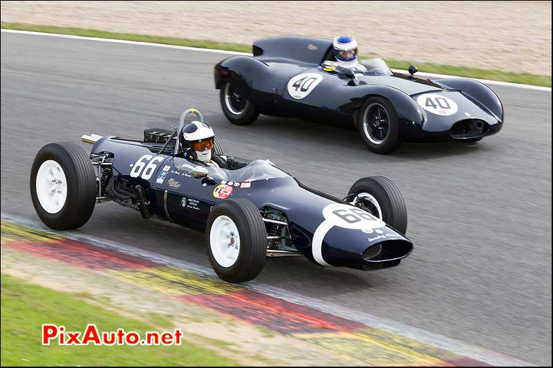 cooper t66 historic grand prix cars spa-francorchamps.